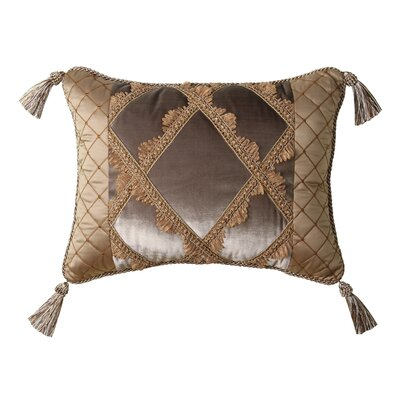Jennifer Taylor Legacy Synthetic Pillow with Braid and Tassel