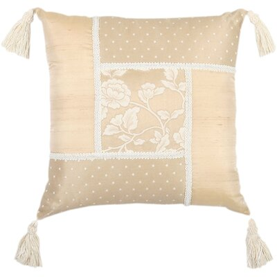 Jennifer Taylor Heirloom Patchwork Pillow
