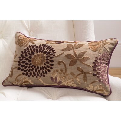 Sandy Wilson Daphne Lumbar Pillow with Self Cord