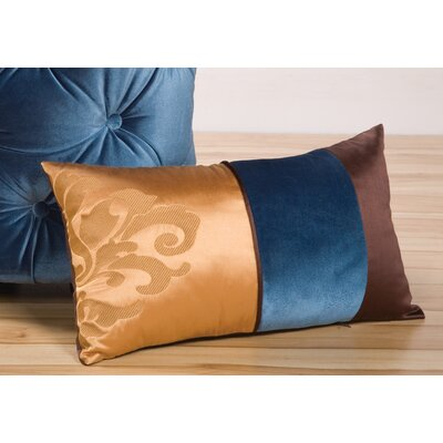 Fusion Lumbar Pillow with Embroidery