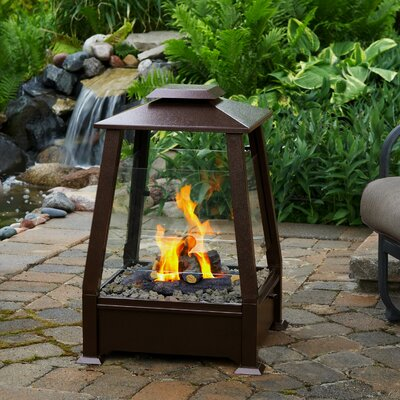 Real Flame Sierra Outdoor Pagoda Fireplace
