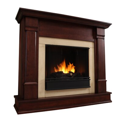 Real Flame Silverton Gel Fuel Fireplace