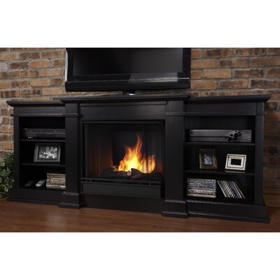 Real Flame Fresno 72&quot; TV Stand with Gel Fireplace