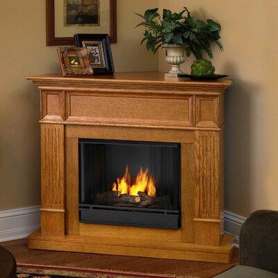 Real Flame Camden Ventless Gel Fuel Corner Fireplace