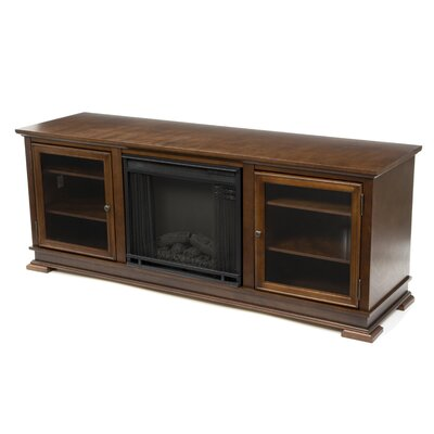 Real Flame Fresno 72 Tv Stand With Electric Fireplace Reviews Wayfair