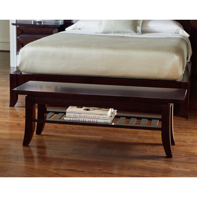 Brownstone Furniture Bancroft Cherry Bedroom Bench