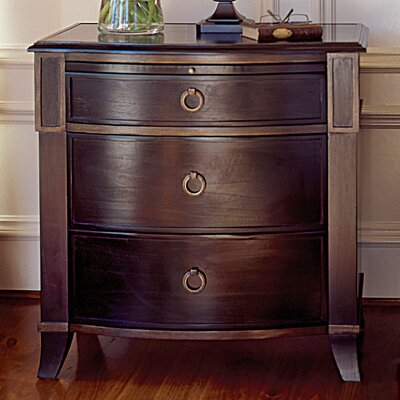 Brownstone Furniture Metropolitan 3 Drawer Nightstand