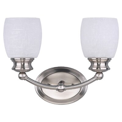Canarm Palms 2 Light Bath Vanity Light