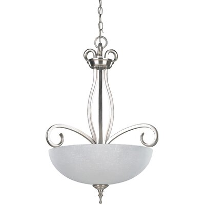 Arbour 3 Light Bowl Chandelier