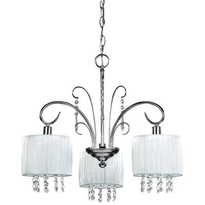 Canarm Michele 3 Light Chandelier