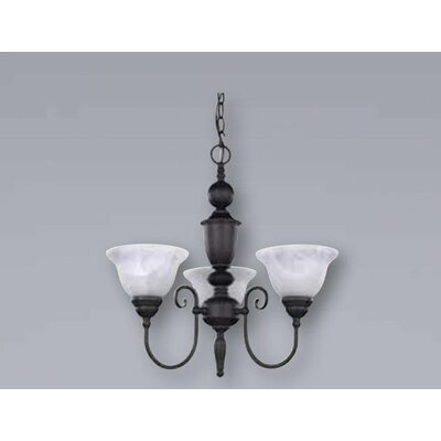 Canarm Julianna 3 Light Chandelier