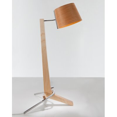"Cerno Silva 21.5"" H LED Table Lamp with Empire Shade"