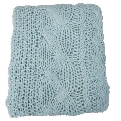 Hampton Hand Knitted Acrylic Throw