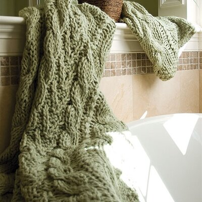 Bedford Cottage Hampton Hand Knitted Throw