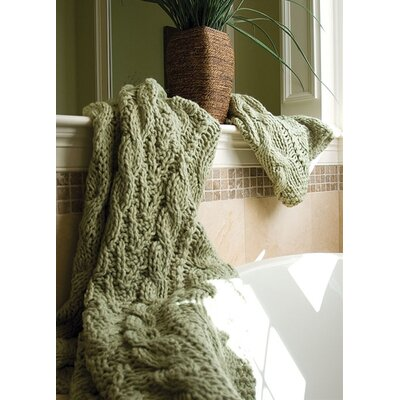 Bedford Cottage Hampton Hand Knitted Acrylic Throw