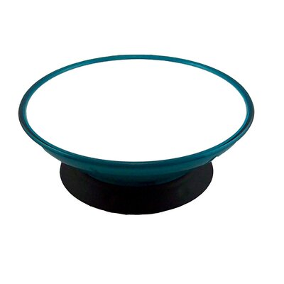 ModaPet Teal Appeal Pedestal Dog & Cat Bowl