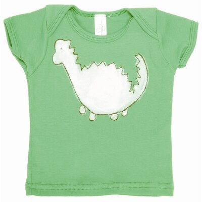 Alex Marshall Studios Dinosaur Lap T Shirt in Green