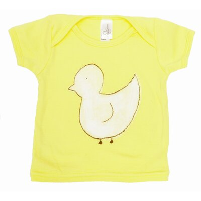 Alex Marshall Studios Duck Lap T Shirt in Yellow
