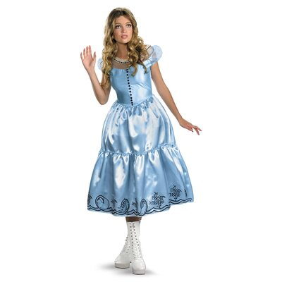 Alice Blue Dress Movie Adult Costume