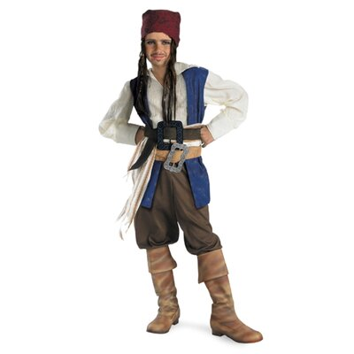 Disguise Costumes Captain Jack Sparrow Classic Costume