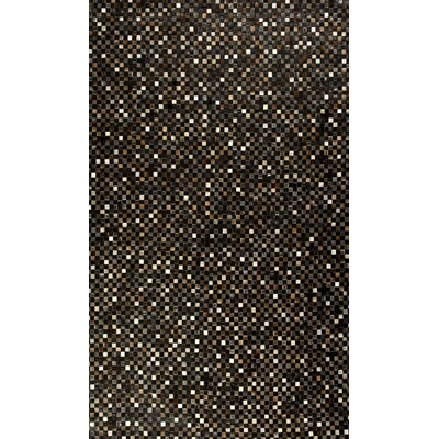 MevaRugs Hair Hyde Black Rug