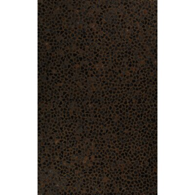 Meva Rugs Hair Hyde Chocolate Rug