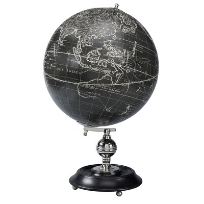 Authentic Models Vaugondy 1745 Noir Globe