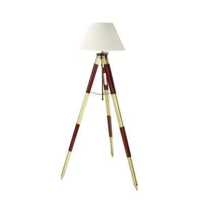 Authentic Models Surveyor's Tripod Floor Lamp