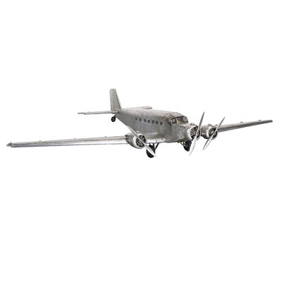Junkers JU52 'Iron Annie' Airplane in Silver