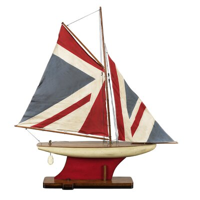 Union Jack Pond Yacht Sailboat