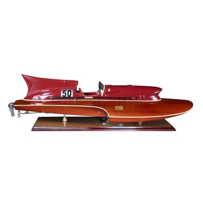 Authentic Models Thunder Model Boat