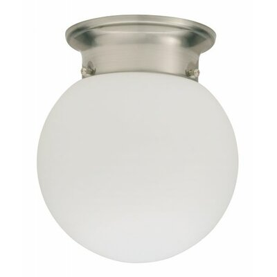 Lithonia Lighting Globe 1 Light Flush Mount