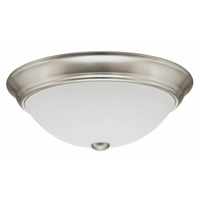 Lithonia Lighting Decor Round 1 Light Flush Mount