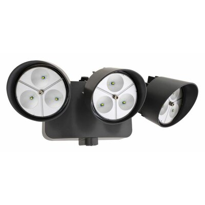 Lithonia Lighting Dusk to Dawn 3 Head LED Floodlight