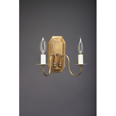 Northeast Lantern 2 Light Candelabra Socket Wall Sconce