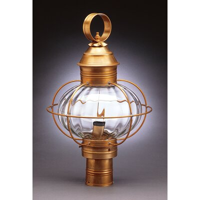 Northeast Lantern Onion 1 Light Post Lantern