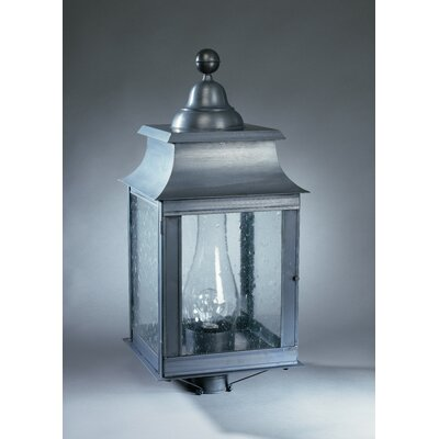 Northeast Lantern Concord 1 Light Chimney Pagoda Post Lantern