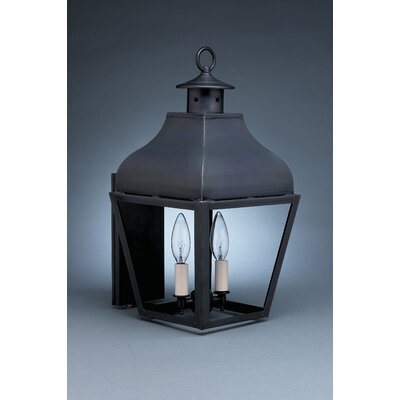 Northeast Lantern Stanfield 2 Candelabra Sockets Wall Lantern