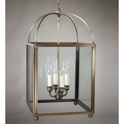 Northeast Lantern Chandelier 4 Light Hanging Lantern
