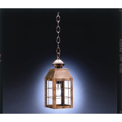 Northeast Lantern Woodcliffe Medium Base Socket H-Rod Hanging Lantern