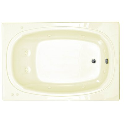 "Spa Escapes St. Lucia 78"" x 48"" Corner Whirlpool Tub"