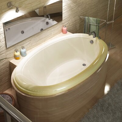 "Spa Escapes Martinique 70"" x 23"" Oval Bathtub"