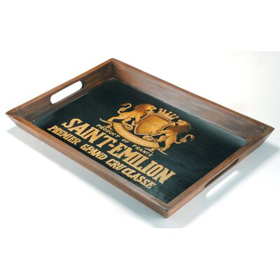 Barreveld International Wood Saint-Emilion Rectangular Serving Tray