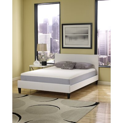 "Eco-Lux 10"" Geranium Memory Foam Mattress"
