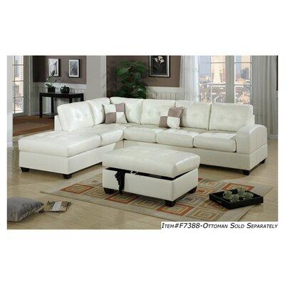 White leather sectional wayfair for White sectional sofa wayfair