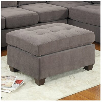 Poundex Bobkona Suede Sectional