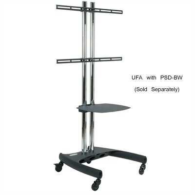 "Premier Mounts Universal Flat Mount(Mounts on Dual Pole Stands) (37"" - 61"" Screens)"