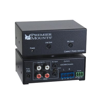 Premier Mounts 50 Watt Compact Power Amplifier
