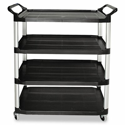 """Rubbermaid Commercial Products Open Sided 36"""" Utility Cart"""