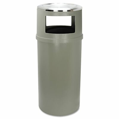 Rubbermaid Commercial Products Ash/Trash Classic Container with O Doors